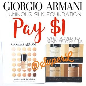 $1 GIORGIO ARMANI BEAUTY Luminous Silk Foundation